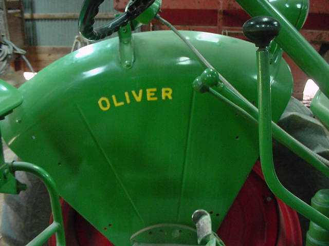 Oliver 77 Hydraulic Levers : The oliver gang message and discussion board paint on a